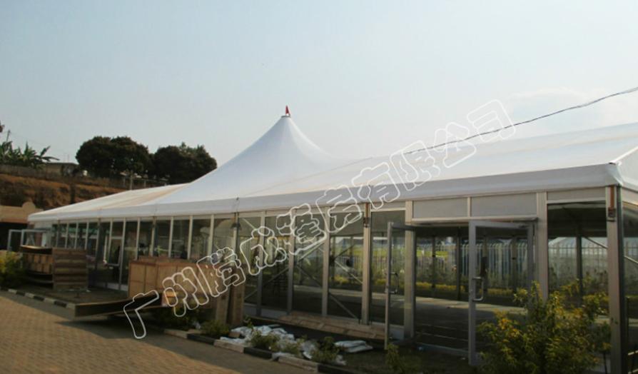 大型帐篷定制租赁卢旺达高端超市